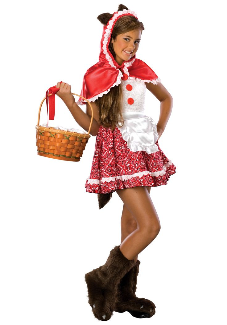tween red riding hood costume teen costumesteen halloween - Teen Halloween Outfits