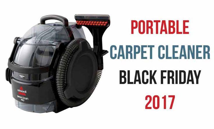 Portable Carpet Cleaner Black Friday 2017 Sale
