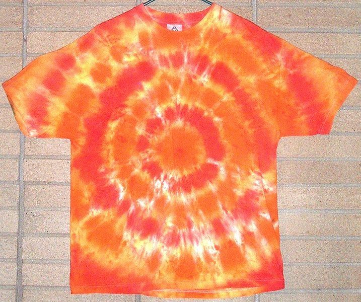 how to make tie dye shirts at home