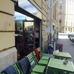Brooklyn Cafe - Helsinki, Finland.