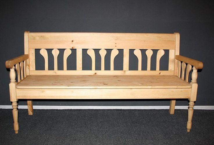 Gartenmobel Holz Billig :  massiv holz in Möbel & Wohnen, Möbel, Sitzbänke & Hocker  eBay