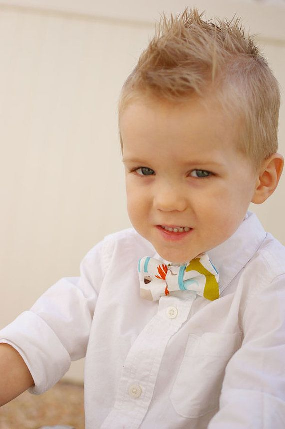 little bowties and mowhawks=best combination ever