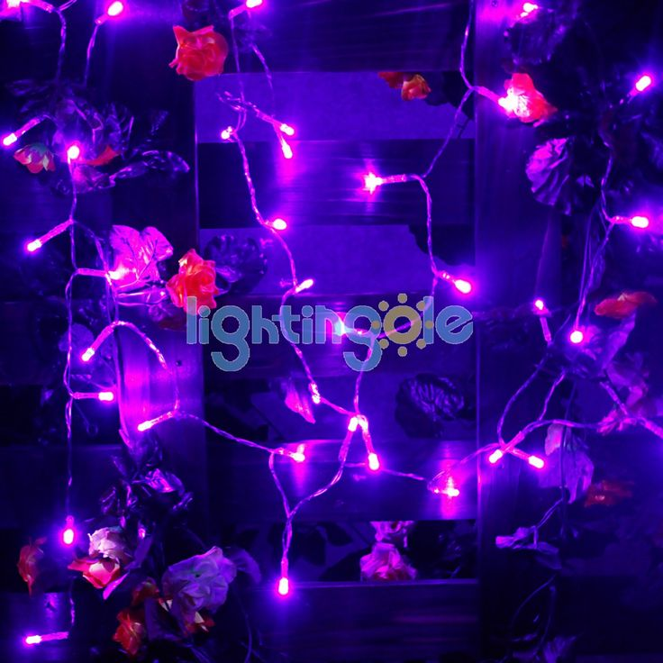 30 LED/3M Mini Battery Operated String Lights X'mas Wedding Party Holiday Decor Light, Purple - 3 Modes String - LED String - Strips and Strings - Lightingole.com