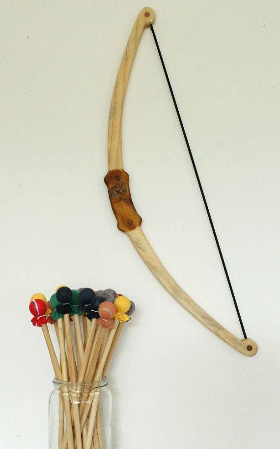 Bow & Arrow Set by NeedleandNail on Etsy