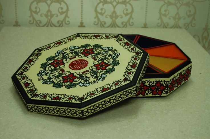 han-ji, paper craft,Gu jeol pan, Nine dish platters