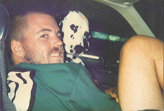 Bradley Nowell  amp  Lou Dog  Sublime   Lou Dogs Sublime  Hands Side  Dogs    Lou Dog On Stage