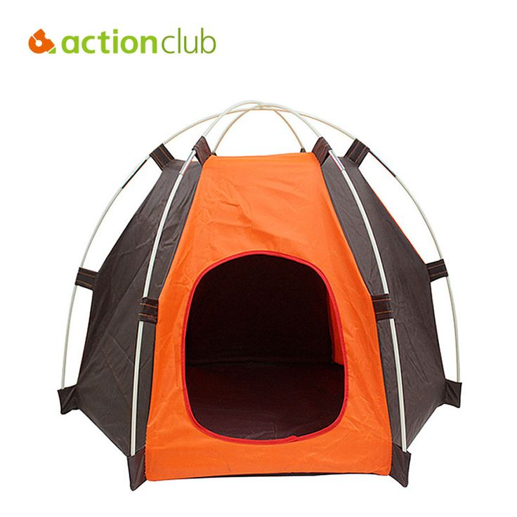 Actionclub Folding Kennel Oxford Waterproof Foldable Tent Small And Medium Pets House Fashion Outdoor Camping Home Travel House  #Affiliate
