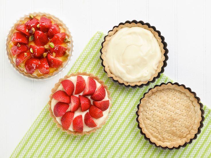 Strawberry Tarts recipe from Ina Garten via Food Network