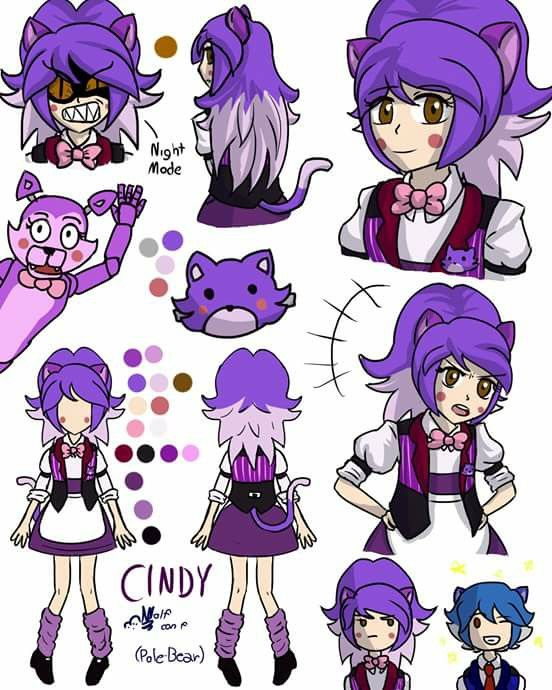 Cindy  Five Nights At Candy's  Diseño: Wolf Con F