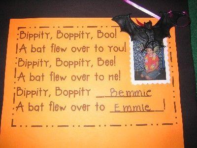 october poem kindergarten cute halloween poems - Good Halloween Poems