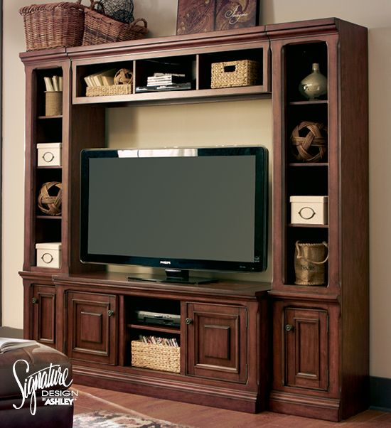Gaylon Entertainment Wall   Ashley Furniture