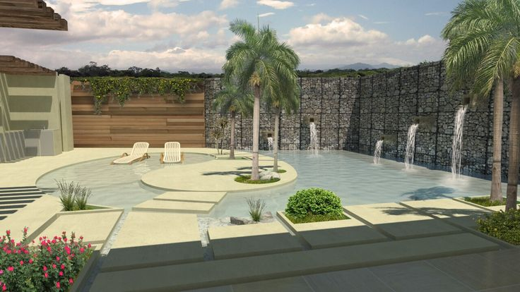 Pool area design...