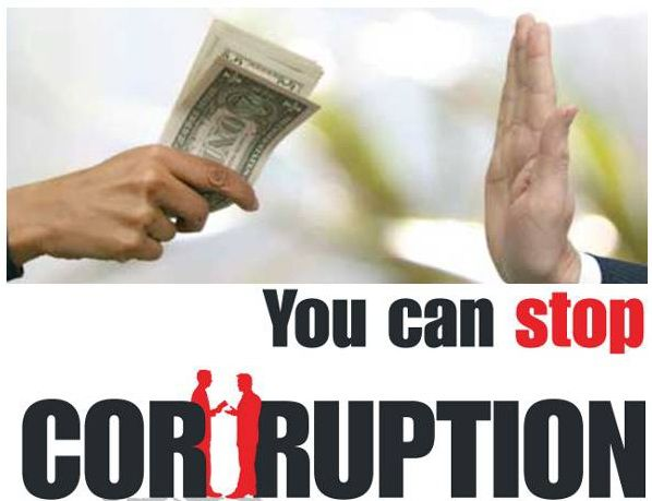 India has a very high level of corruption. Every person should have his own responsibility to stop corruption in India.
