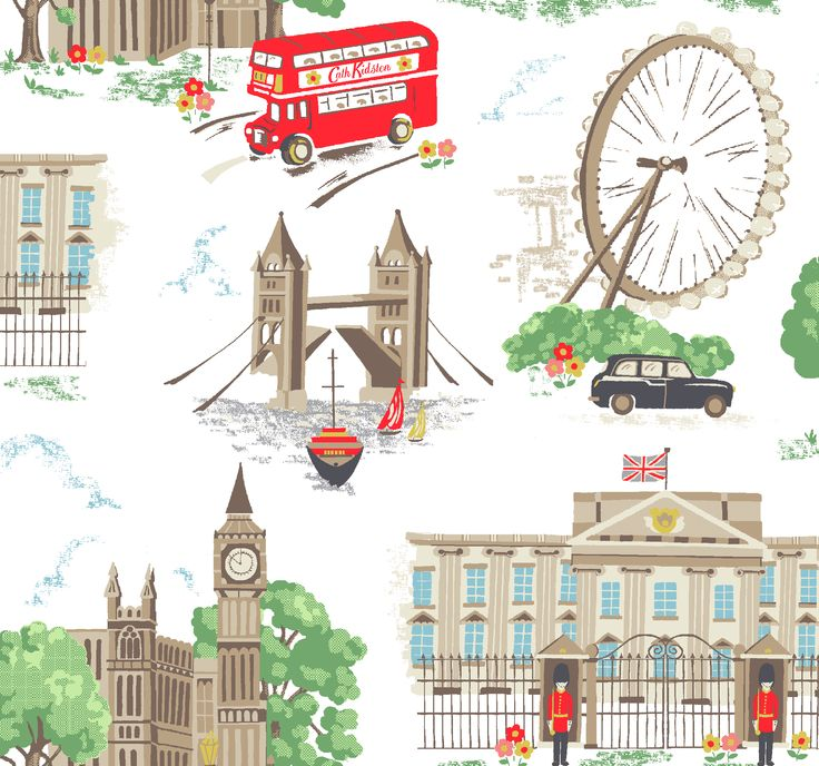 Cath Kidston | London print on white | classic print