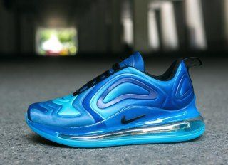 b7a5454f92a Mens Nike Air Max 720 Running Shoes Royal Blue Navy Blue