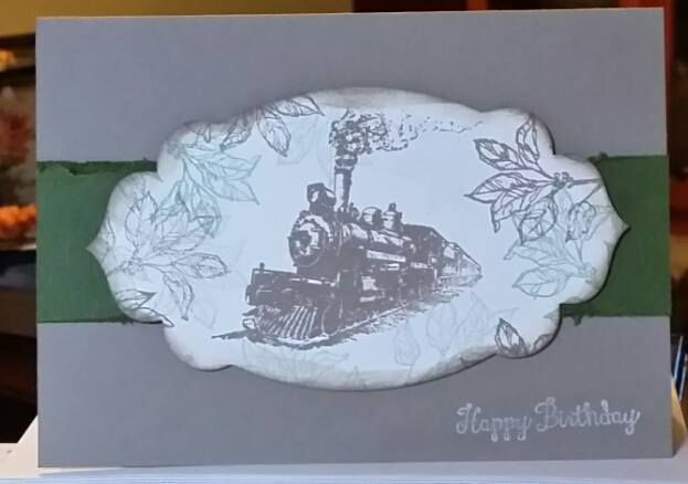 Male card - Stampin Up