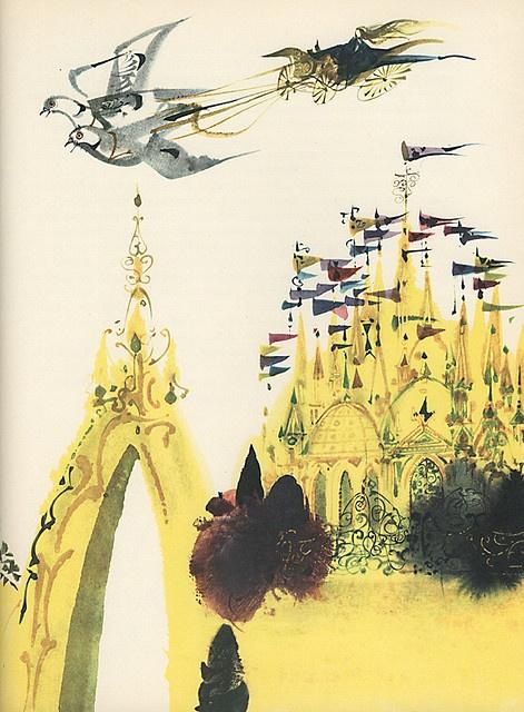 Mirko Hanak - The Bluebird - Castle by moonflygirl, via Flickr