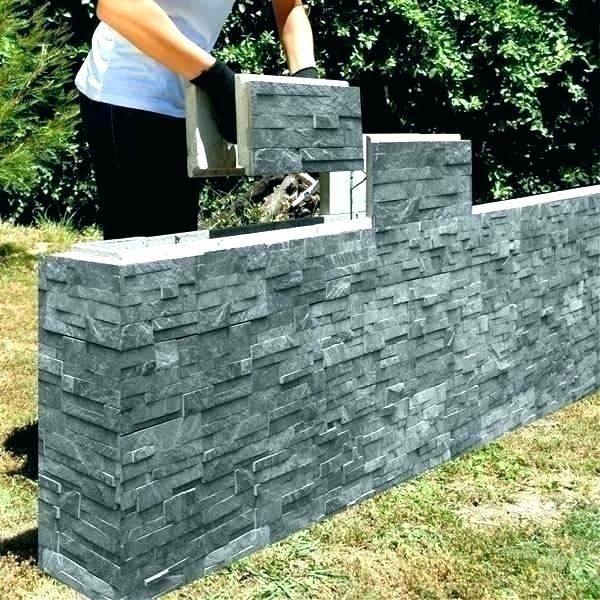 Block Garden Wall Concrete Retaining Forms Interlocking Blocks Breeze Shed Cost Landscaping Retaining Walls Garden Wall Shed Cost