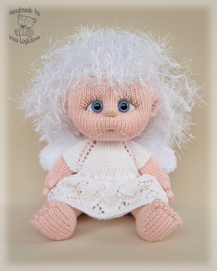Ravelry: Rina777's Девочка ангел #knit #angel #amigurumi