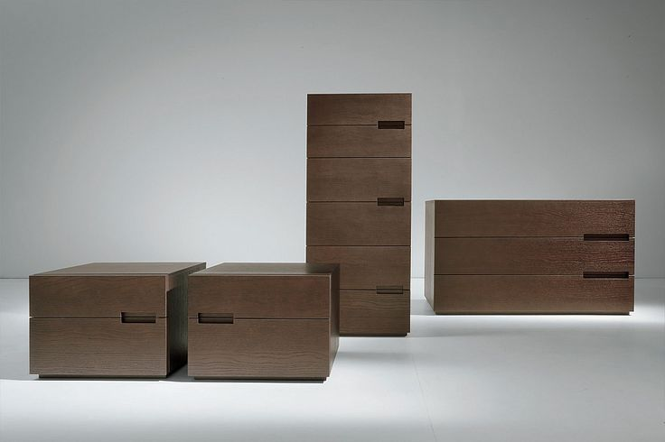 Contemporary 6 drawers tall chest Modern by Dall'Agnese