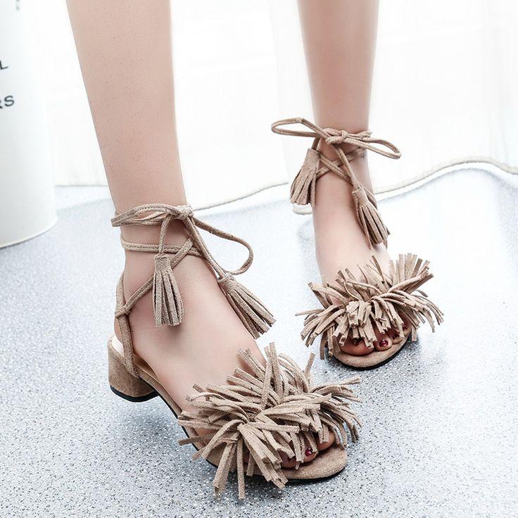 Купить товар2016 женщины кисточкой бахрома туфли на высоком каблуке блок каблук сандалии на высоком каблуке летом мода девушку Sandalias Zapatos Mujer Chaussure роковой в категории Сандалиина AliExpress.   [Xlmodel]-[Заказ]-[19119]  [Xlmodel]-[Заказ]-[19119]  [Xlmodel]-[Заказ]-[19119]  [Xlmodel]-[Заказ]-[19119]  [Xlmodel
