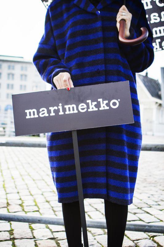 On the way to Marimekko's Spring/Summer 2015 fashion show at Oil Silo 468 In Helsinki. #marimekko #marimekkoss15