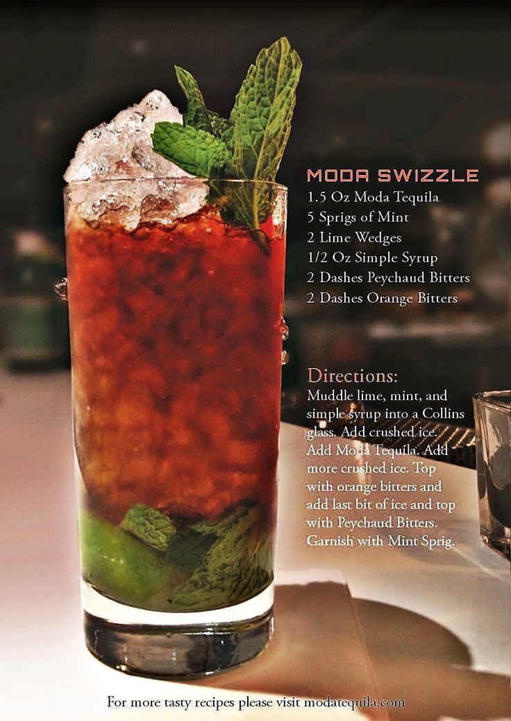 MODA Swizzle Cocktail