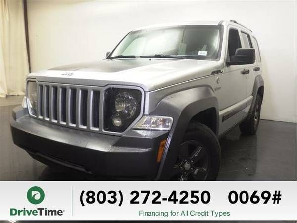 2010 Jeep Liberty SUV Renegade (Bright Silver Metallic Clear (Jeep_ Liberty_ SUV_)