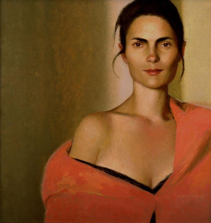 Bo Bartlett - 2006-Betsy-in-the-mirror | Bo Bartlett | Pinterest