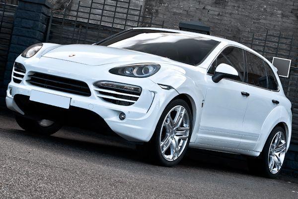 Britisches Designtuning am Porsche Cayenne