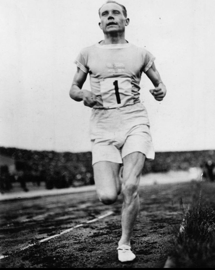 Paavo Nurmi, World Winning Finnish Runner