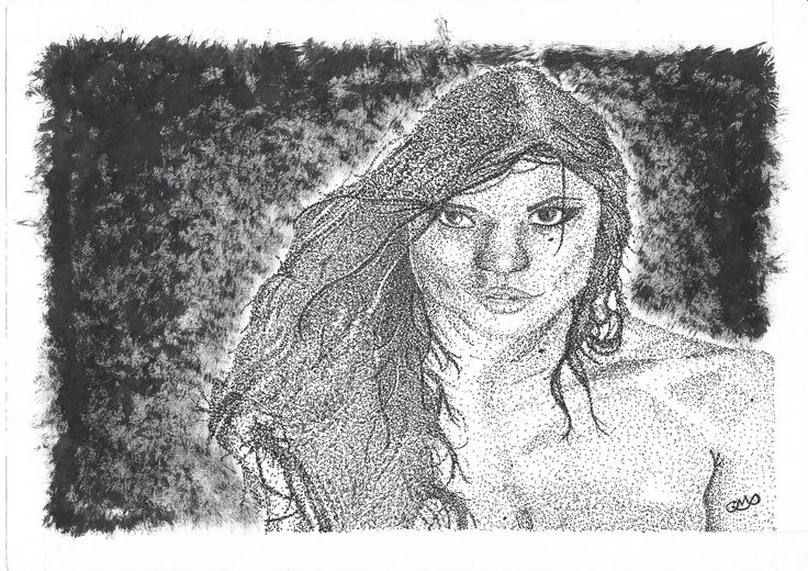 Little Caprice (Stippling/Pontilhismo)