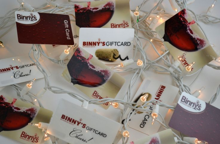 A Binny's gift card is a great gift for the holidays!