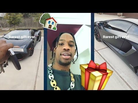 Travis Scott Surprises Family With New House For Christmas