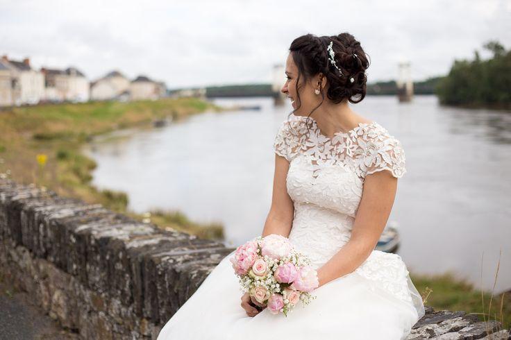 Mariée bord de loire - photographe mariage cholet - maine et loire - Emilie.B