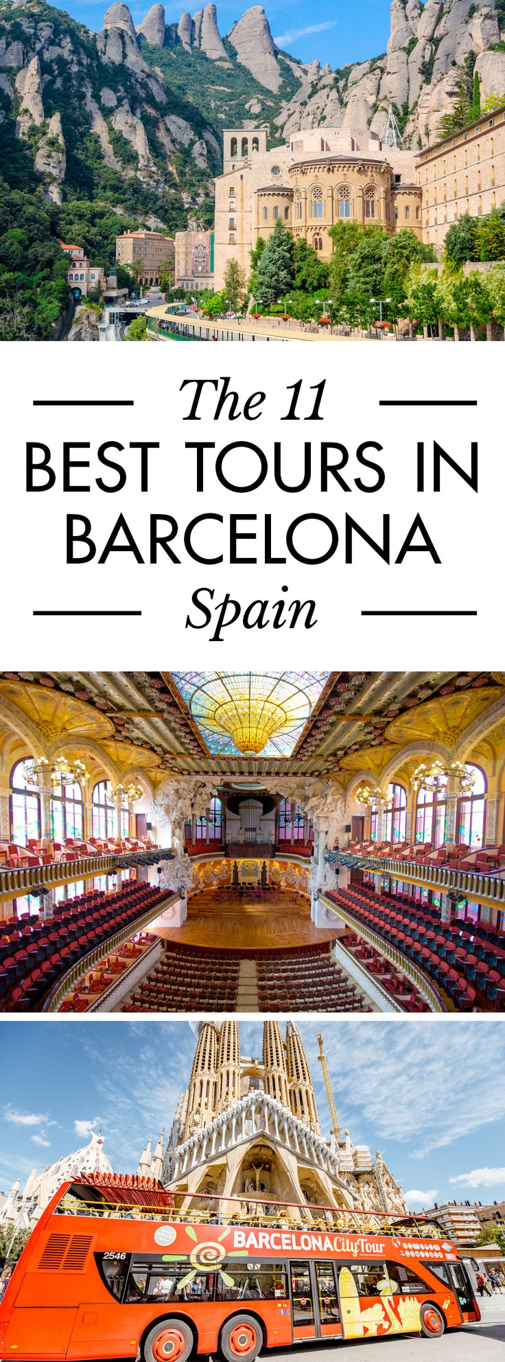 Click pin to discover the best tours in Barcelona, Spain actually worth paying for. - Best Things to Do in Barcelona, Spain. #Barcelona