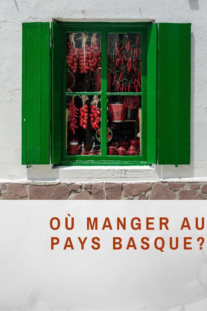 Quoi et o? manger au Pays Basque Pinterest The o jays ...