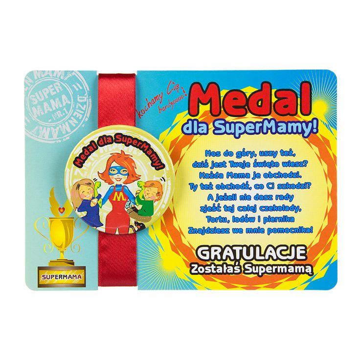 Medal dla SuperMamy