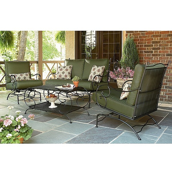 Sears Simply Outdoors Norwood 4 Pc Conversation Set