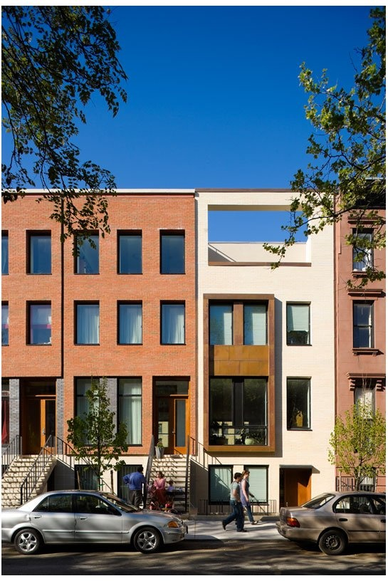 54 best images about good infill housing on pinterest for Modern townhouse exterior