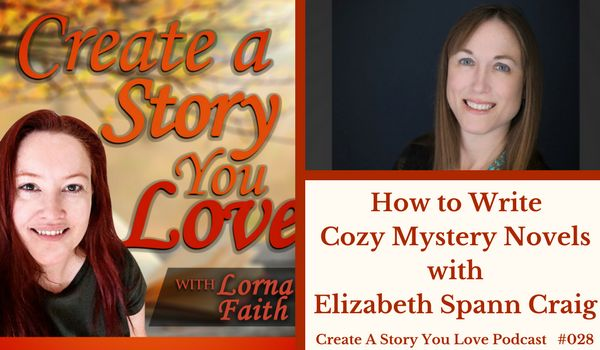 028 How to Write Cozy Mystery Novels with Elizabeth Spann Craig #CASYLPodcastInterviews #amwritingmystery