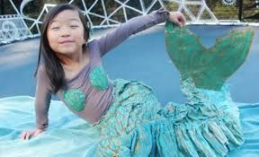 Image result for mermaid costume child