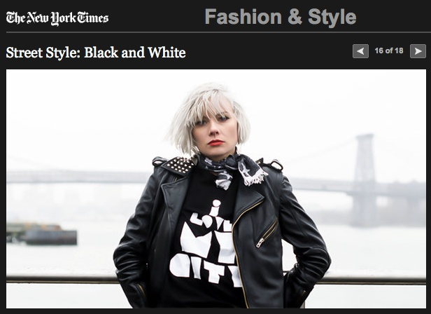 B-side // I Love My City Tee // New York Times