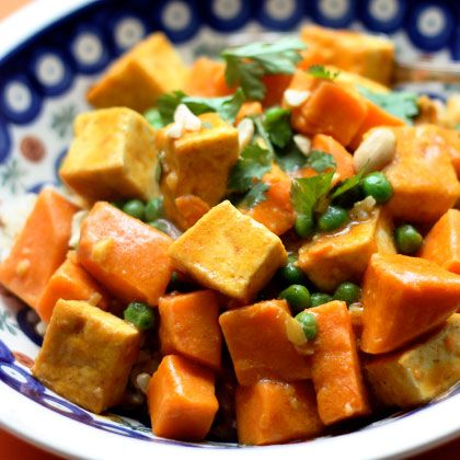Sweet Potato Curry with Tofu | Recipes | Spoonful dinner tonight!!
