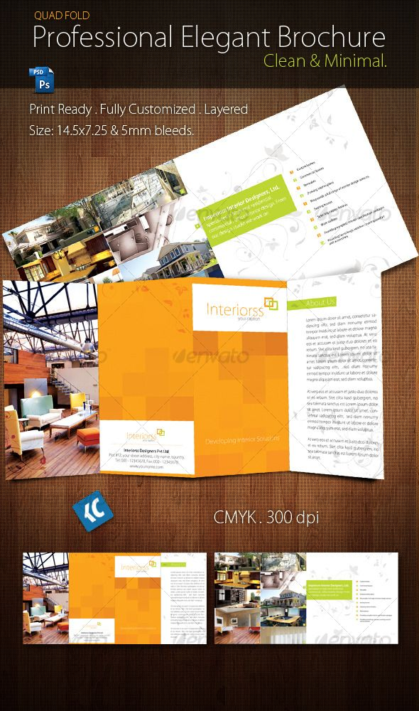 17 best images about brochures on pinterest purpose for Quad fold brochure template