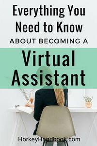 """One question I get asked a lot when I meet people online or at networking events is """"How do I become a virtual assistant?"""" Here's how I did it (and how you can do it too).  via @ghorke"""