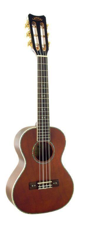 Lanikai Model LU-6 Tenor Size Eastern Mahog. 6 String Ukulele #LANIKAI #UKULELE