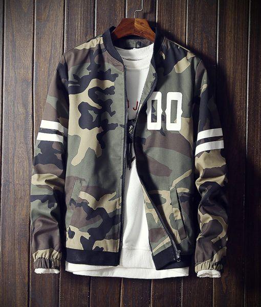 DFYNT Camouflage Bomber Jacket