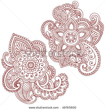 nike air max essential 90 vapor Hand Drawn Abstract Henna  mehndi  Paisley Doodle Vector Illustration Design Elements by blue67design  via ShutterStock