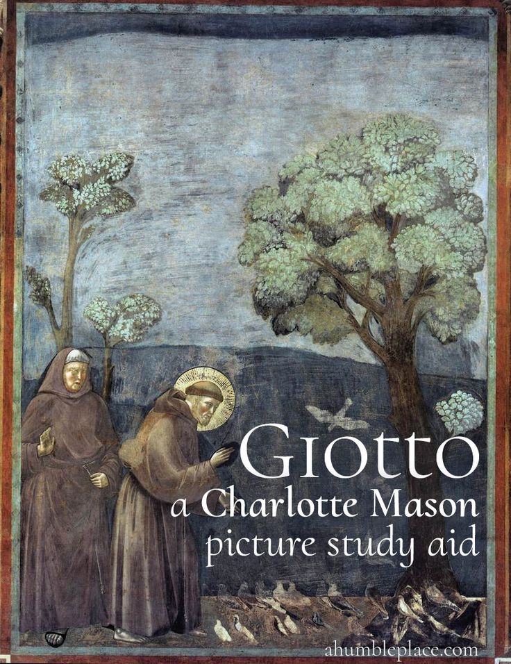 Giotto: a (FREE!) Charlotte Mason Picture Study Aid - ahumbleplace.com